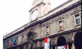 palazzo giureconsulti MFW2017 Milano Duomo